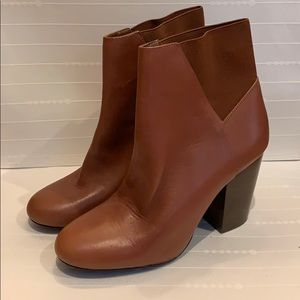 Brown BCBGeneration Booties